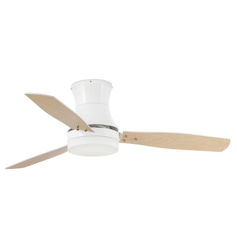 """FARO TONSAY 33384 52"""" biela/biela/javor Reverzný stropný ventilátor"""