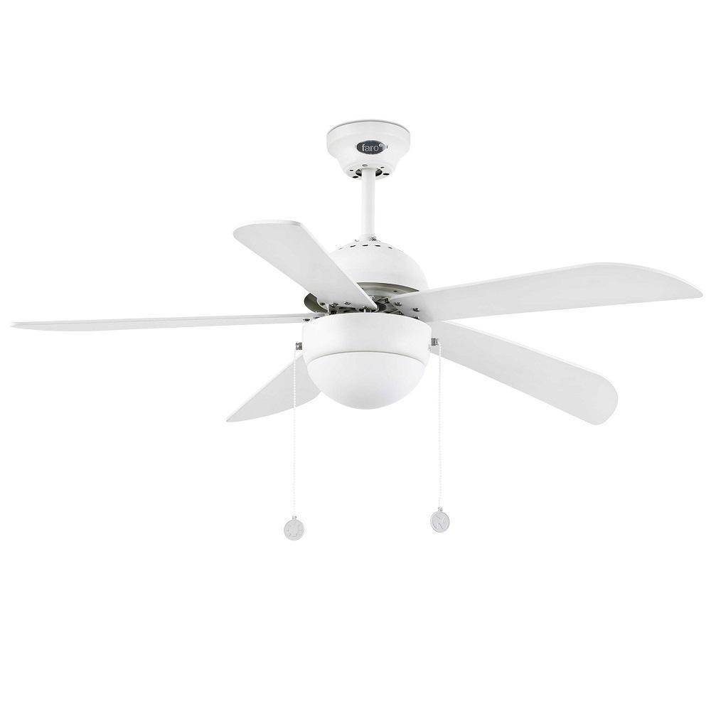 """FARO VENETO 33318 42,1"""" biela/biela Reverzný stropný ventilátor"""