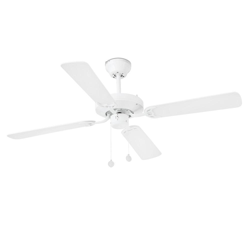 """FARO YAKARTA 33712 47,6"""" biela/biela/javor Reverzný stropný ventilátor"""