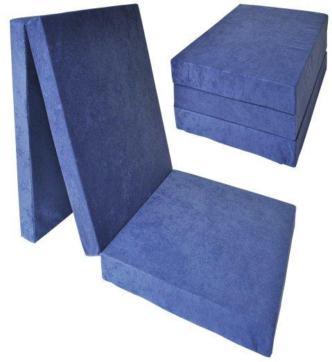 FI Skladací matrac 195x80x10 Farba: Granátová