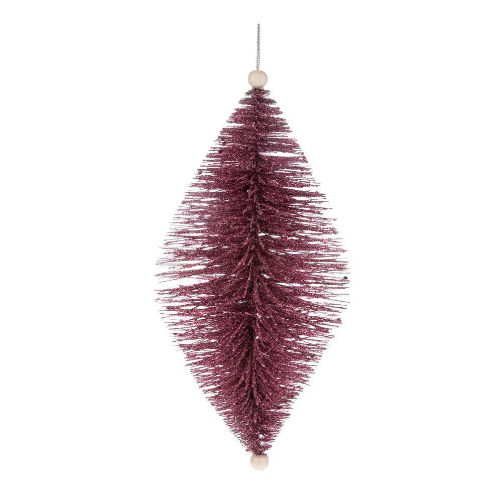 Fialová závesná ozdoba Dakls, dĺžka 24 cm