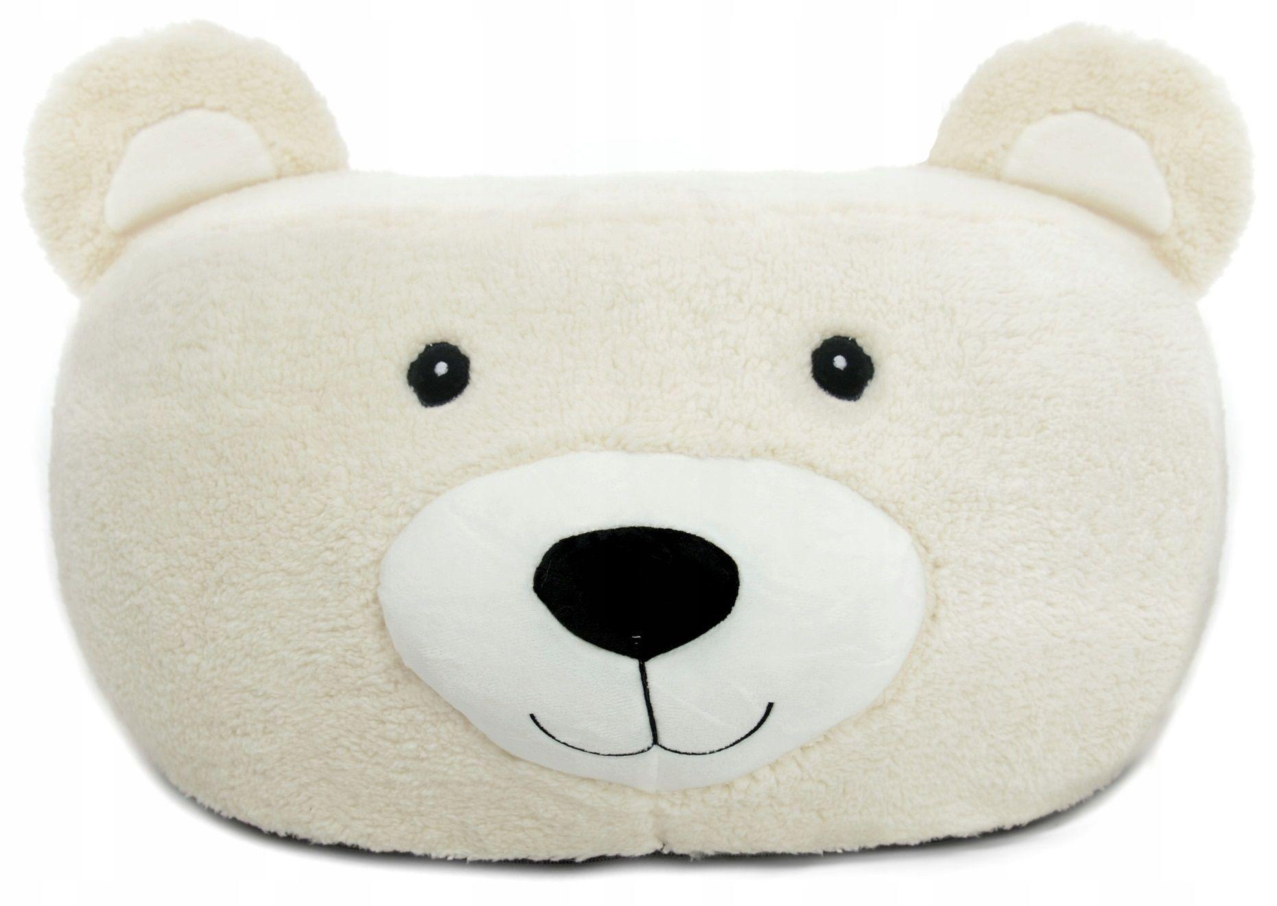 FIT Plyšový puf ANIMALS Vzor: Medvěd