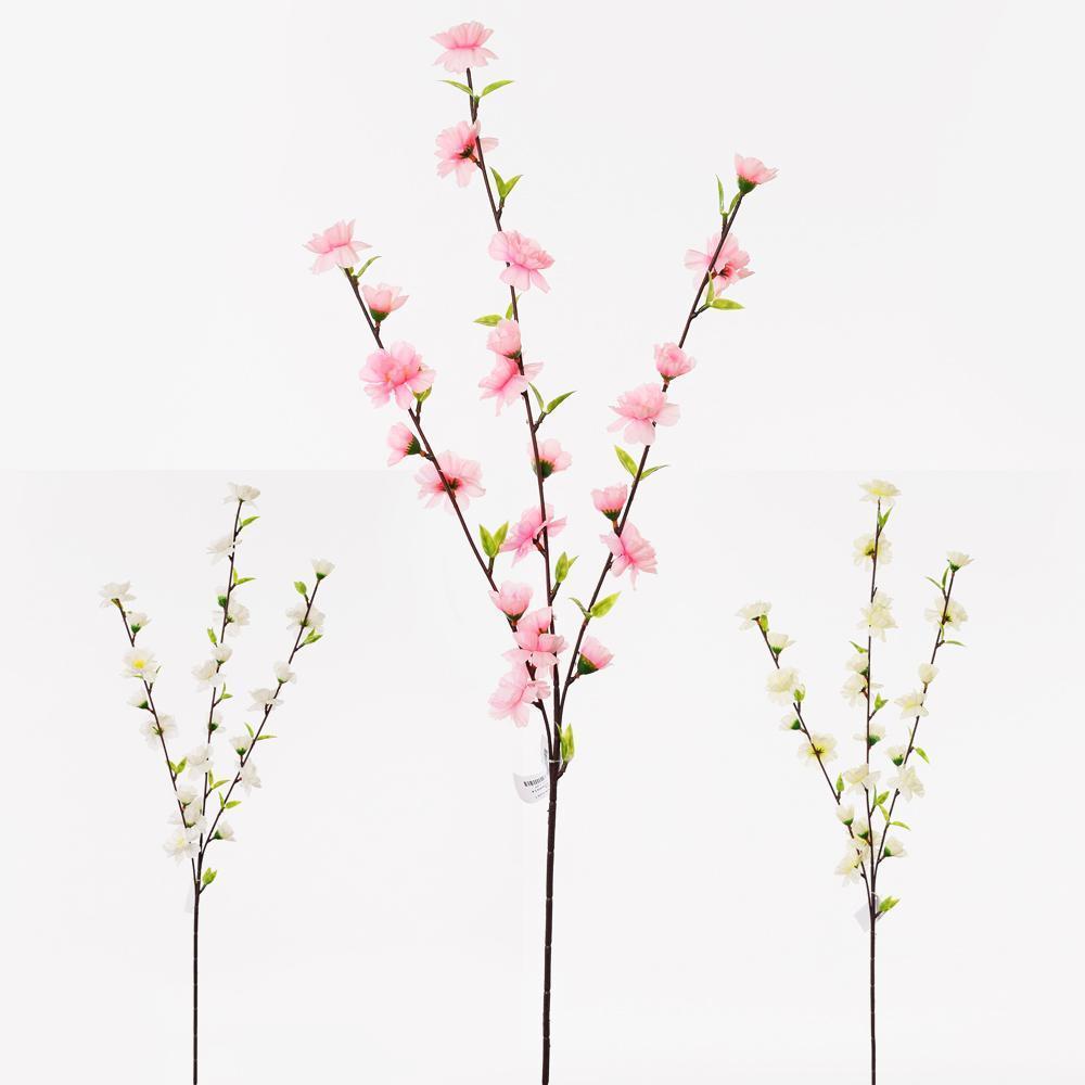 Halúzka čerešňa kvet 85cm biela 9200014B