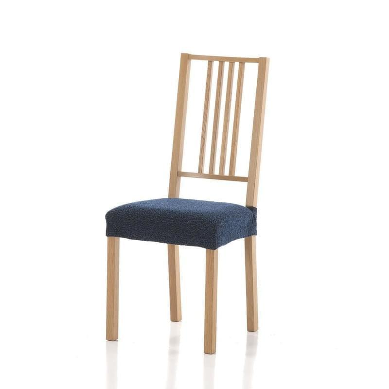 Forbyt, Poťah elastický na sedák stoličky, Petra komplet 2 ks, modrá