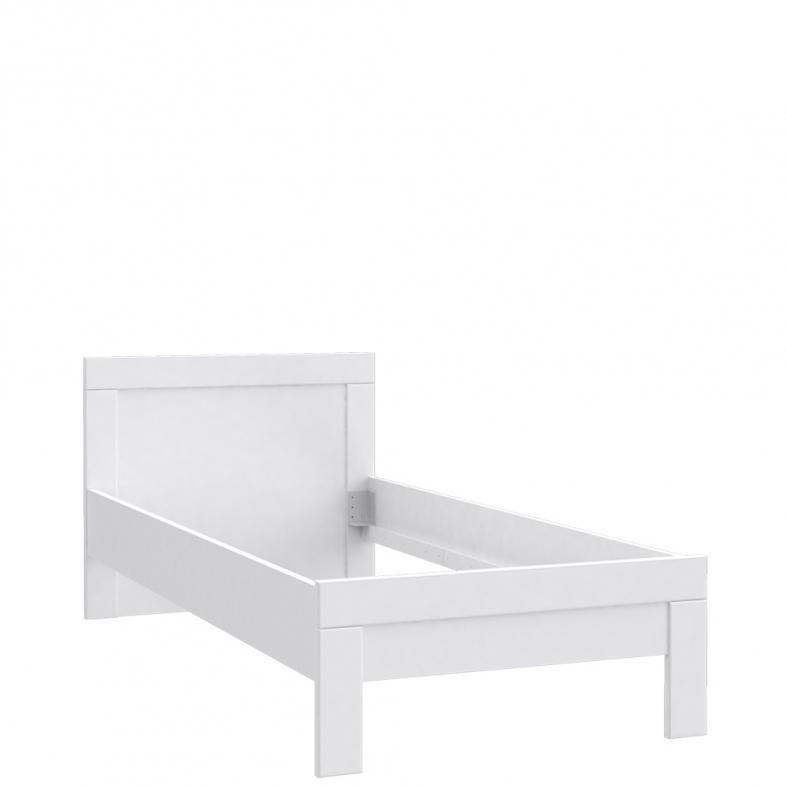Forte Jednolôžková posteľ SNOW SNWL09