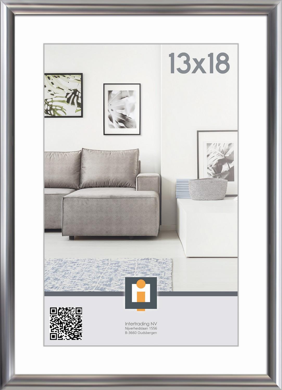Fotorámik Linie 13x18 cm, strieborný