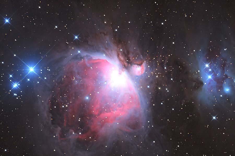 Fototapeta Vesmír - Veľká hmlovina v Orione 197 - samolepiaca na stenu