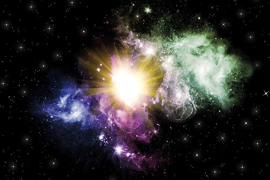 Fototapeta Vesmíru Hviezdy 195 - samolepiaca na stenu