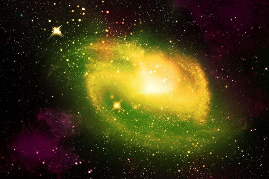 Fototapety Vesmíru - Hviezdy 191 - samolepiaca na stenu