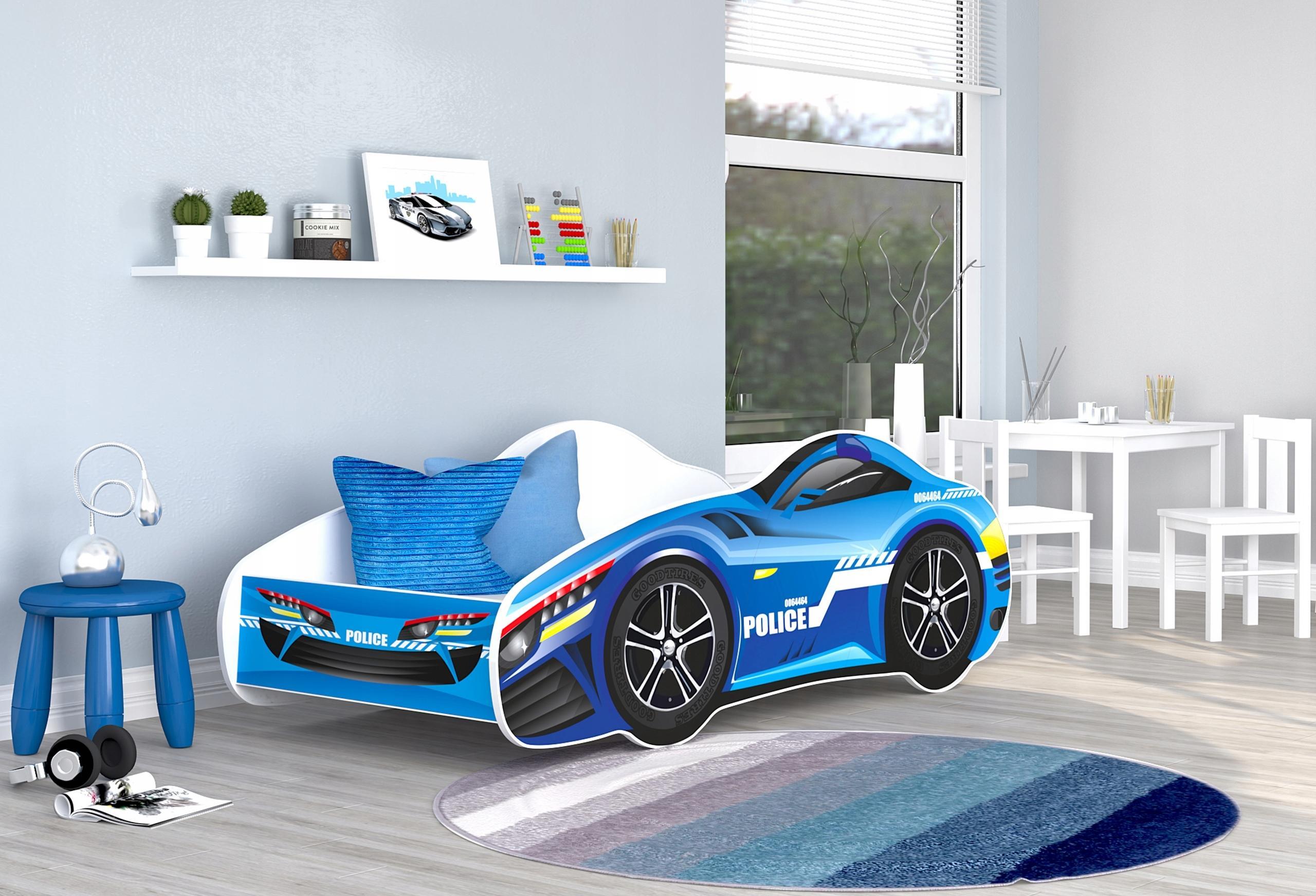 GL Auto Racing Car 07 detská posteľ