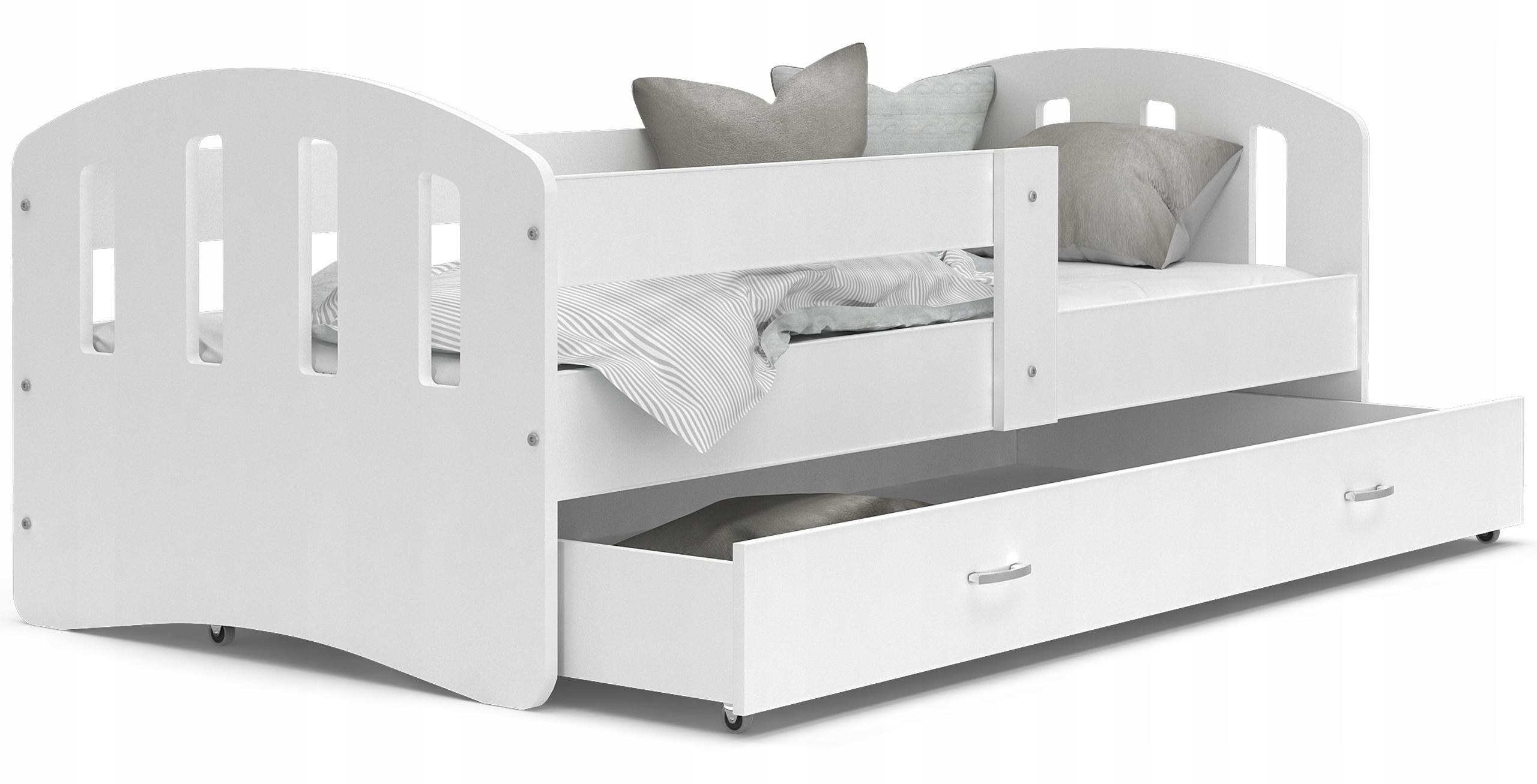 GL Detská posteľ Hana Biela Variant veľkosť postele: 200x90