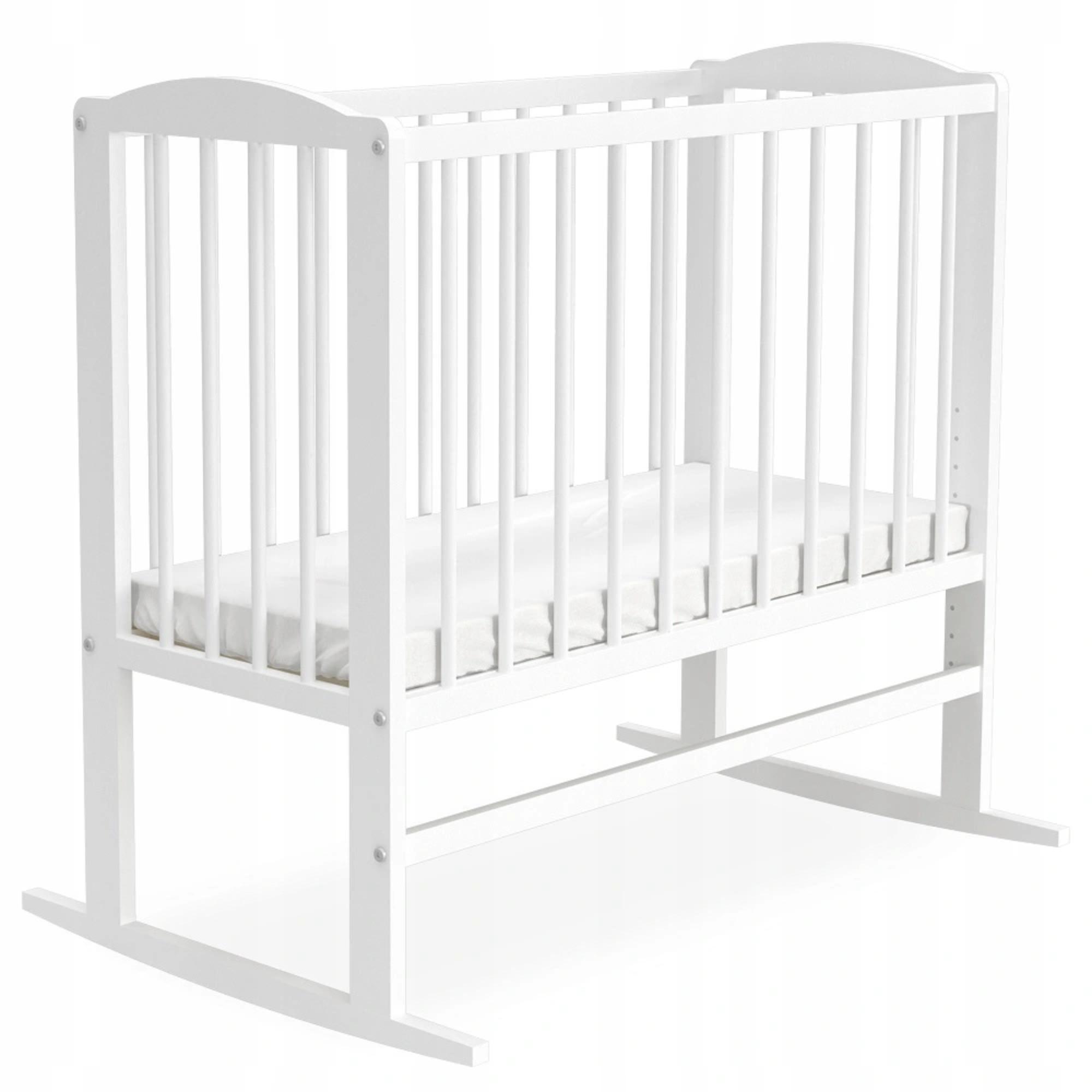 GL Detská postieľka 3v1 Tali 90x40 biela