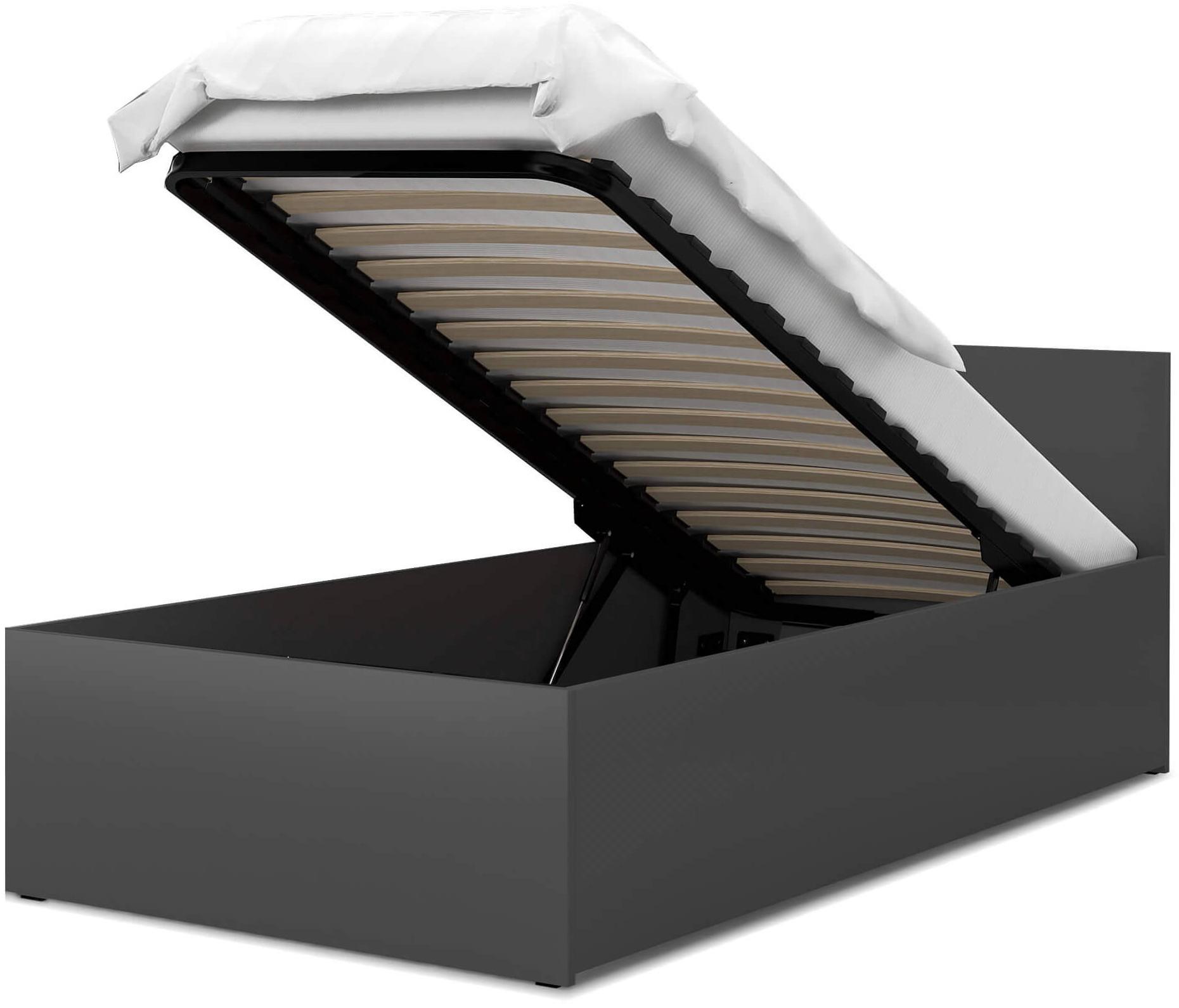 GL Jednolôžková posteľ Dolly - sivá Rozmer: 200x90