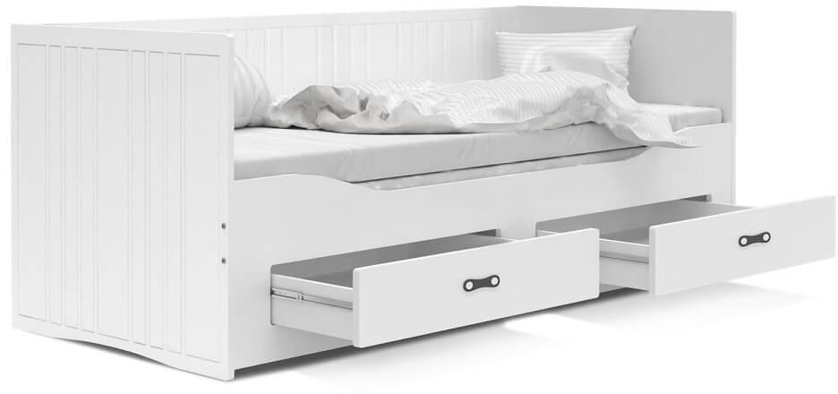 GL Rozkladacia posteľ Hermes II 200x80 s matracmi
