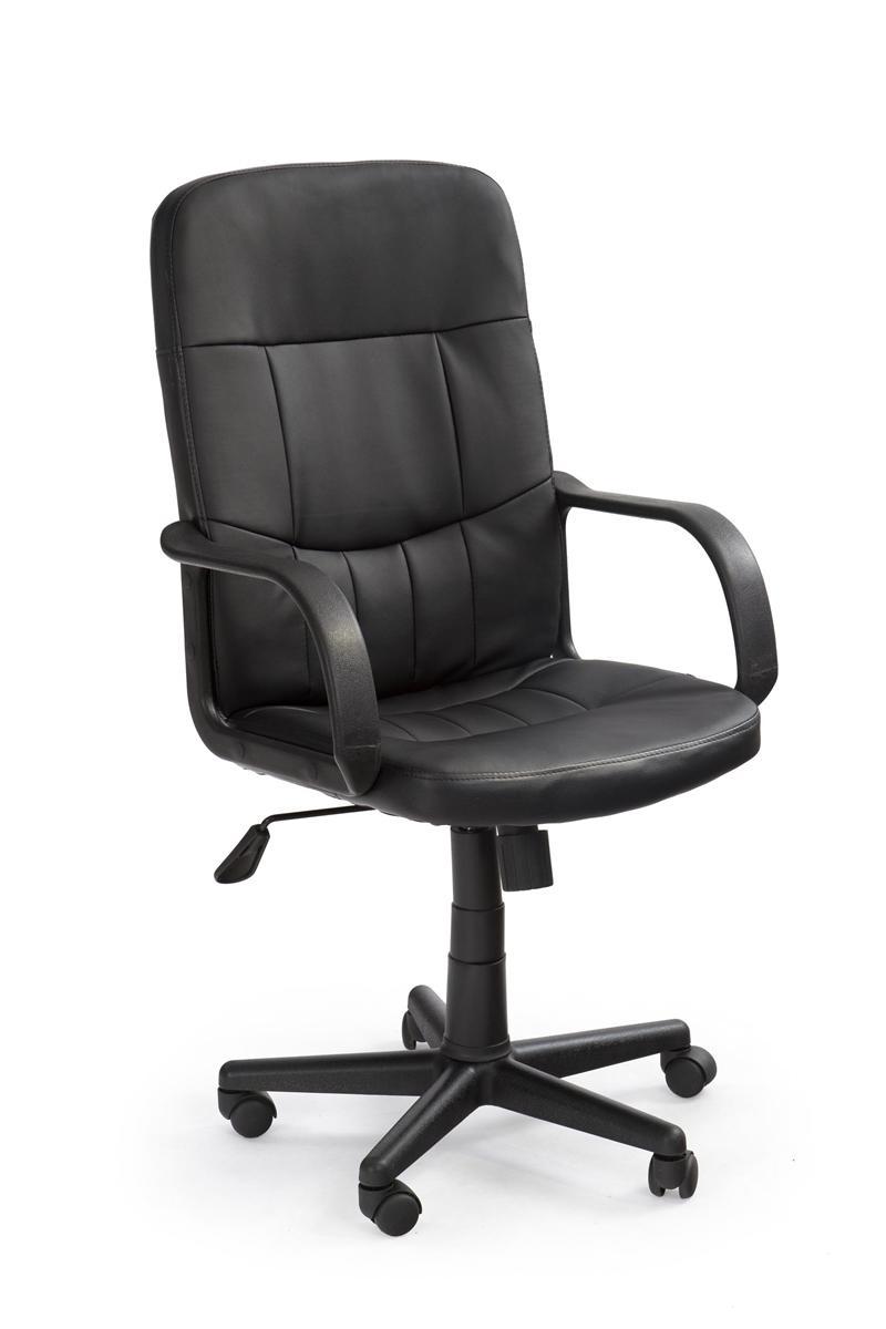 HALMAR Denzel kancelárske kreslo s podrúčkami čierna