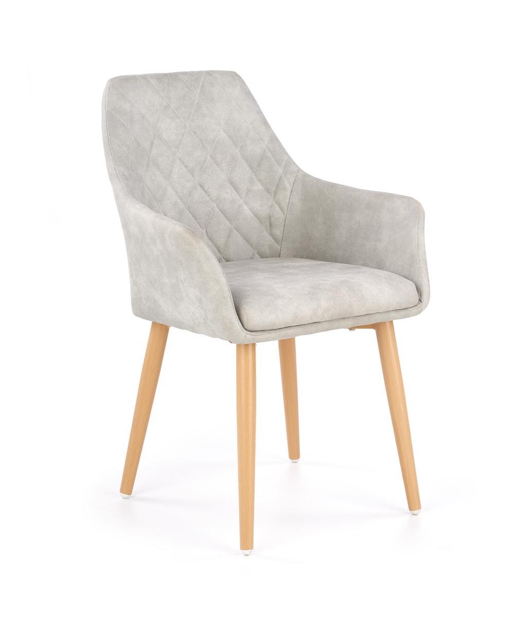 HALMAR K287 jedálenská stolička sivá