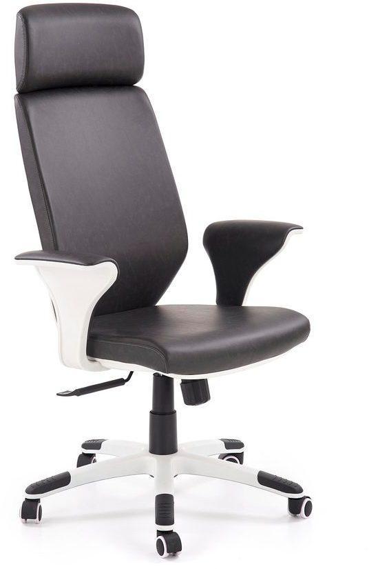 Halmar Kancelářské křeslo Lonatti, černá/bílá