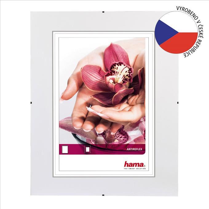 Hama 63108 Fotorámček clip-Fix, antireflexné sklo, 15x21 cm