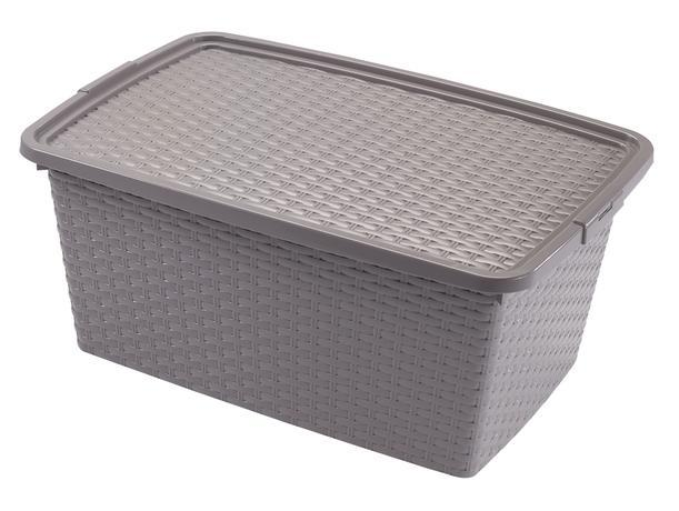 heidrun Plastový úložný box s vekom HEIDRUN 20l.