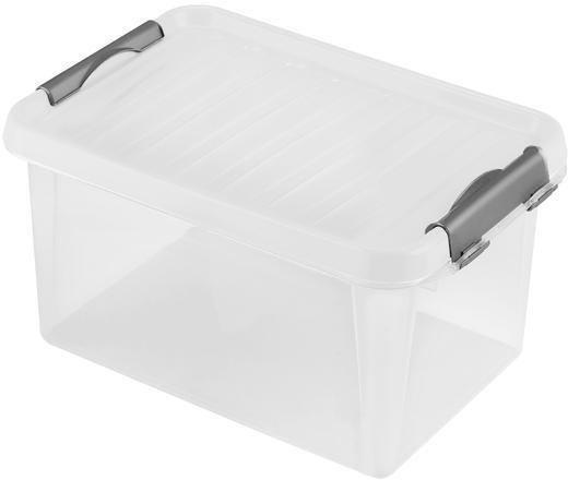 heidrun Plastový úložný box s vekom Heidrun Clip box 8 l