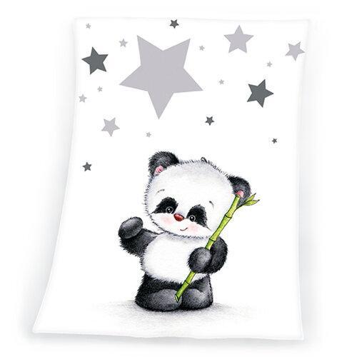 Herding detská deka Fynn Star Panda, 75 x 100 cm