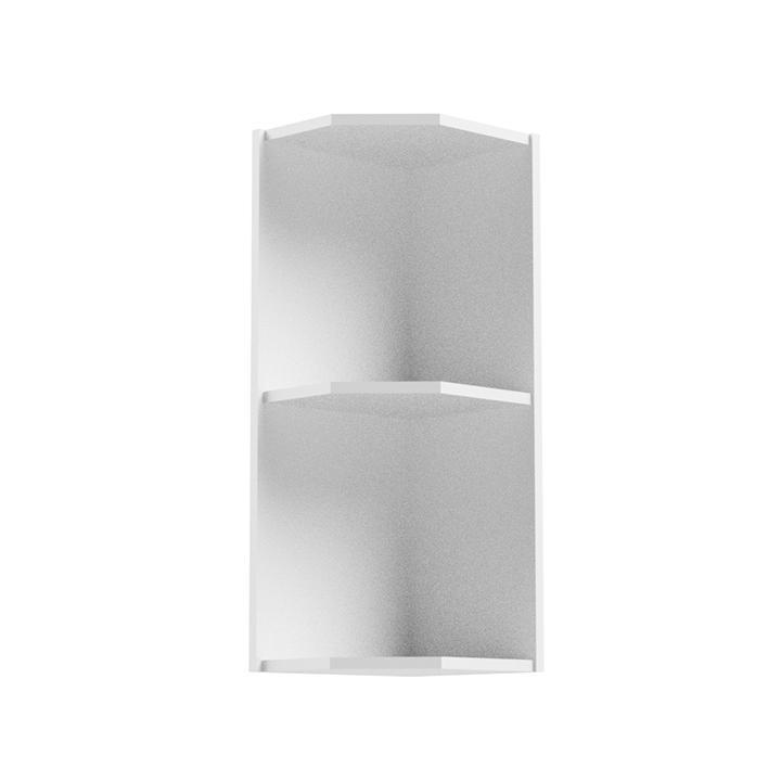 Horní rohová skříňka, bílá, AURORA G25PZ 0000236701 Tempo Kondela