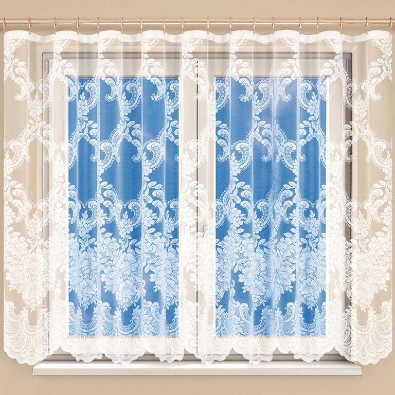 Hotová žakárová záclona HENRIETA 350 x 160 cm