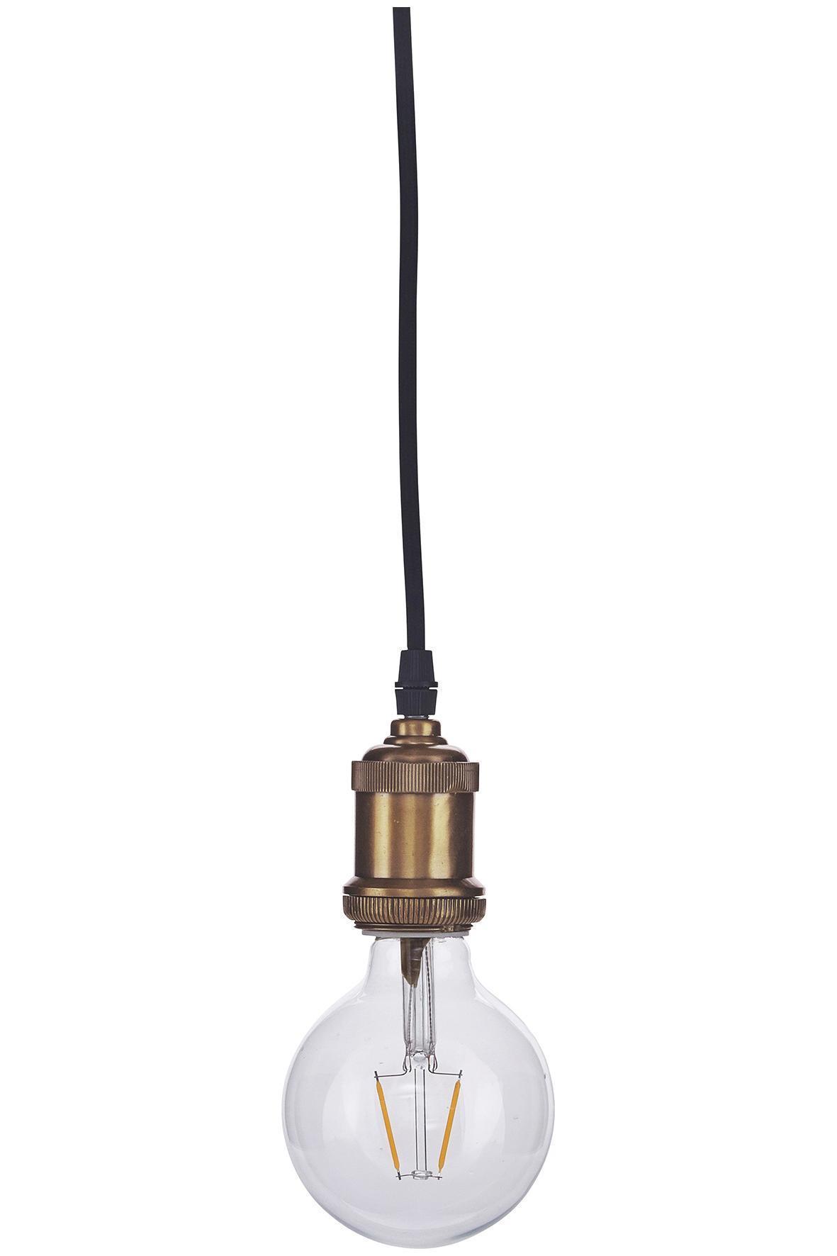 House Doctor Retro LED žiarovka (E27, 2 W) - klasická
