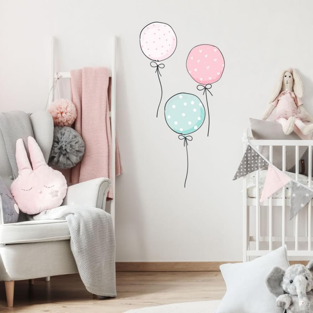 INSPIO balóny púdrových farbách