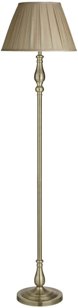 Interierové rustikálne svietidlo SearchLight FLEMISH FLOOR EU5029AB