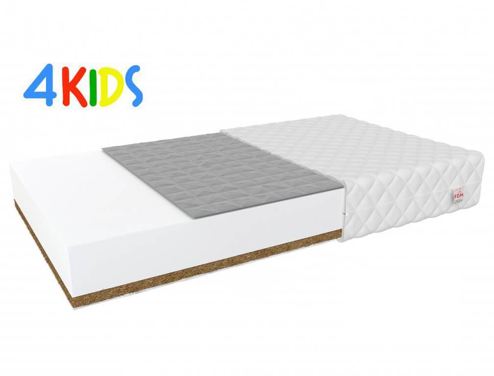 Jaamatrac Detský matrac pohánkou a kokosom Bambino Console 120x70