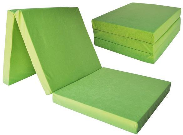 Jaamatrac Skladací matrac 195x80x15 Farba: Zelená