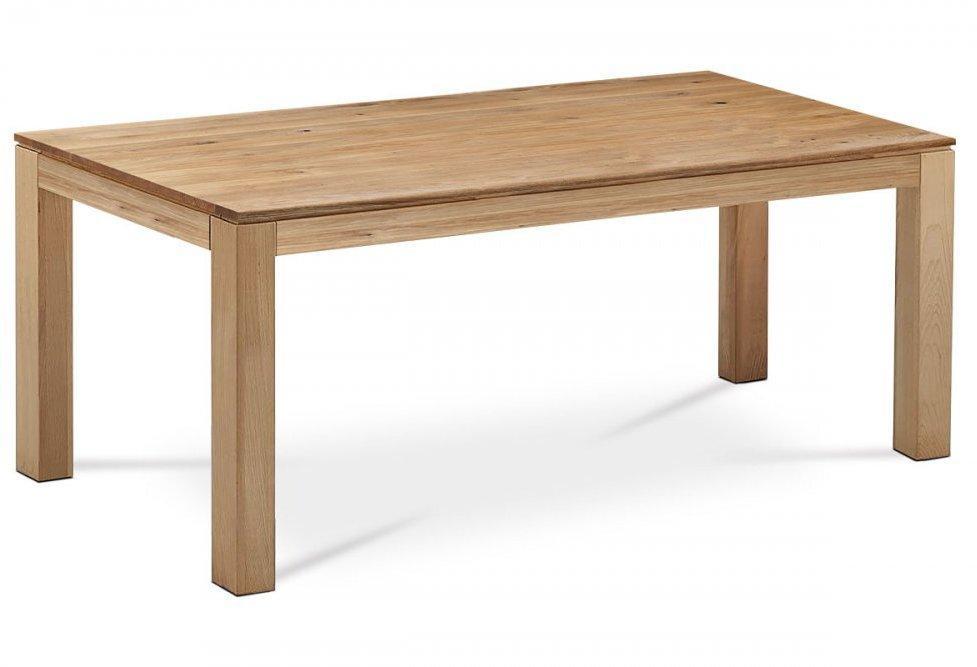 Jedálenský stôl DS-D200 OAK 200x100 cm masívny dub Autronic