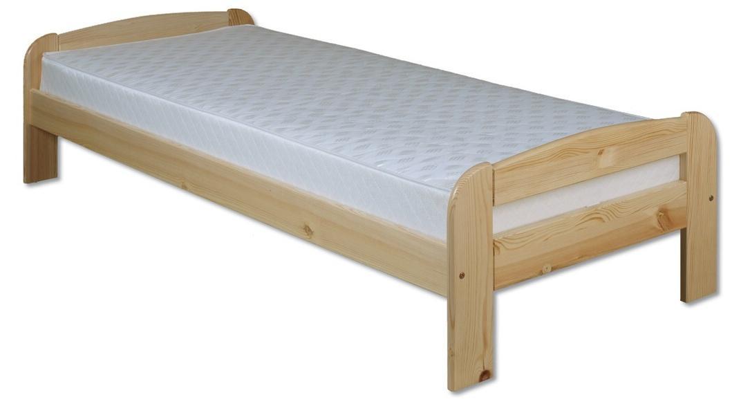 Jednolôžková posteľ 100 cm LK 122 (masív)