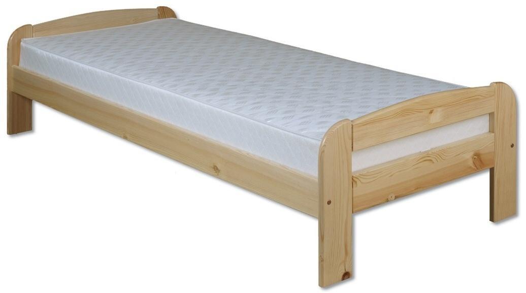 Jednolôžková posteľ 80 cm LK 122 (masív)