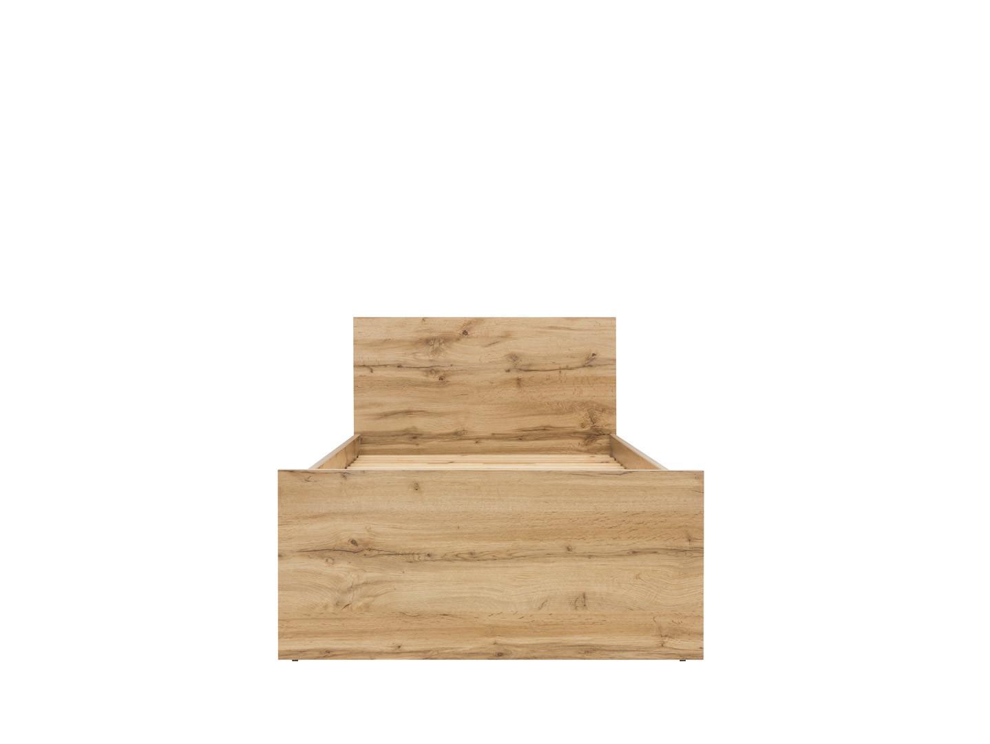 Jednolôžková posteľ 90 cm BRW Zele LOZ/90