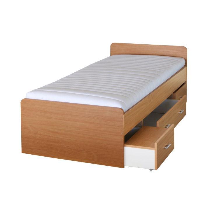 Jednolôžková posteľ 90 cm Dulce 80262 buk 22