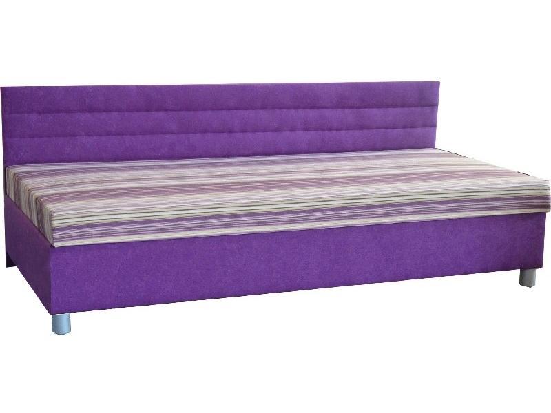 Jednolôžková posteľ (váľanda) 100 cm Etile 1 (so 7-zónovým matracom lux)