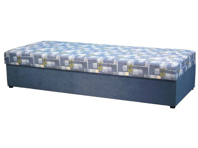 Jednolôžková posteľ (váľanda) 80 cm Kasvo (s molitanovým matracom)