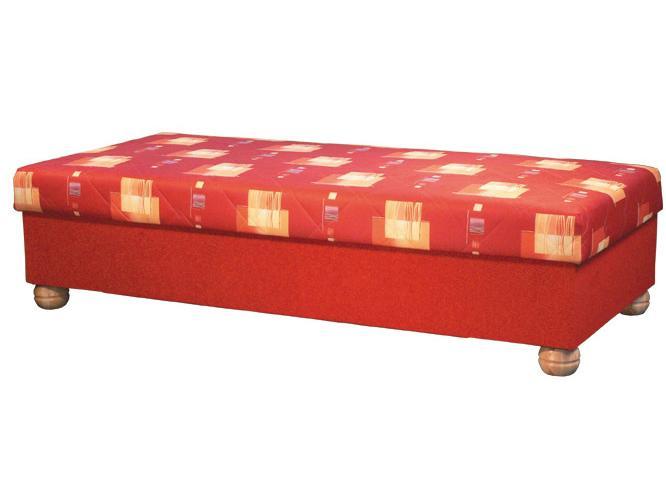 Jednolôžková posteľ (váľanda) 90 cm Miki (s pružinovým matracom)