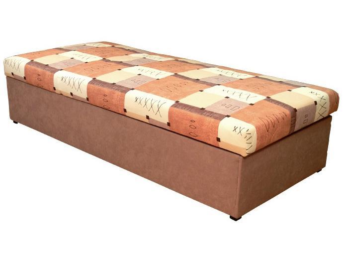 Jednolôžková posteľ (váľanda) 90 cm Palermo (s molitanovým matracom)