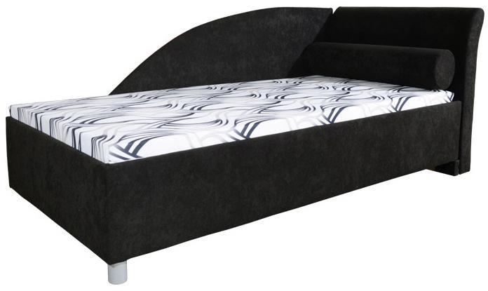 Jednolôžková posteľ (váľanda) 90 cm Perla Plus (so 7-zónovým matracom lux) (P)
