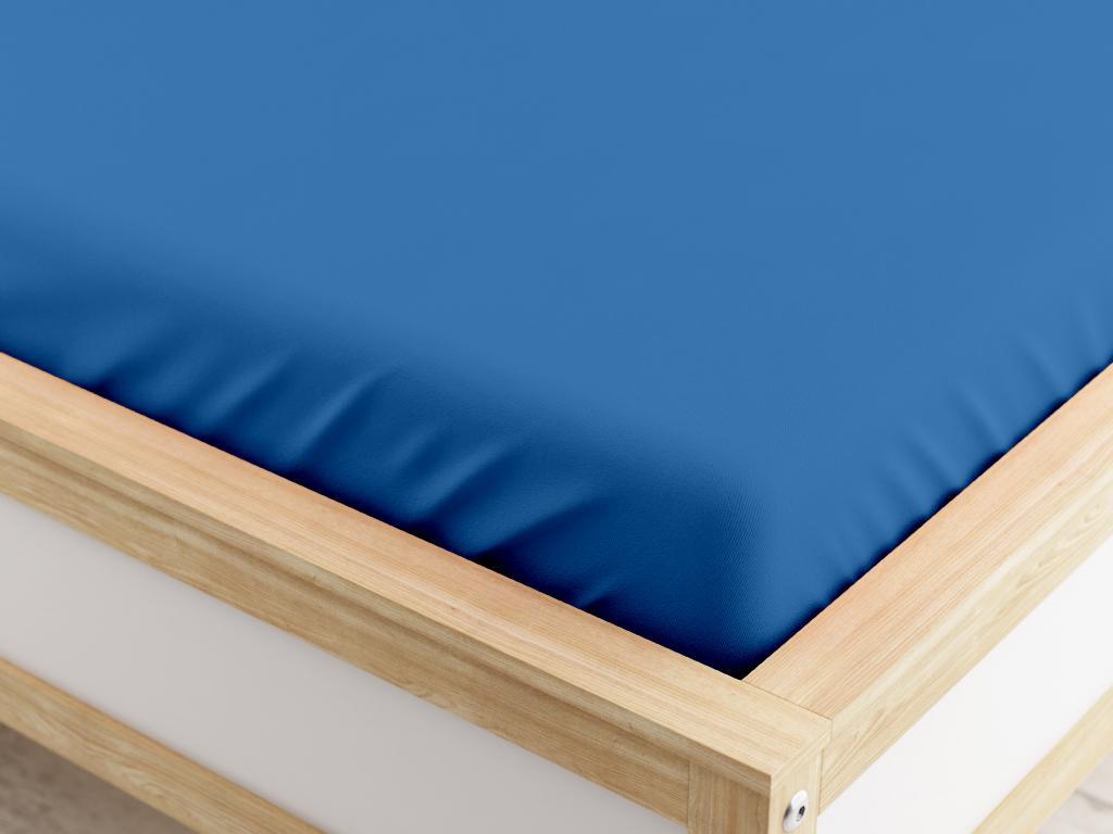 Jersey plachta tmavo modrá 180 x 200 cm Gramáž: 190 g/m2