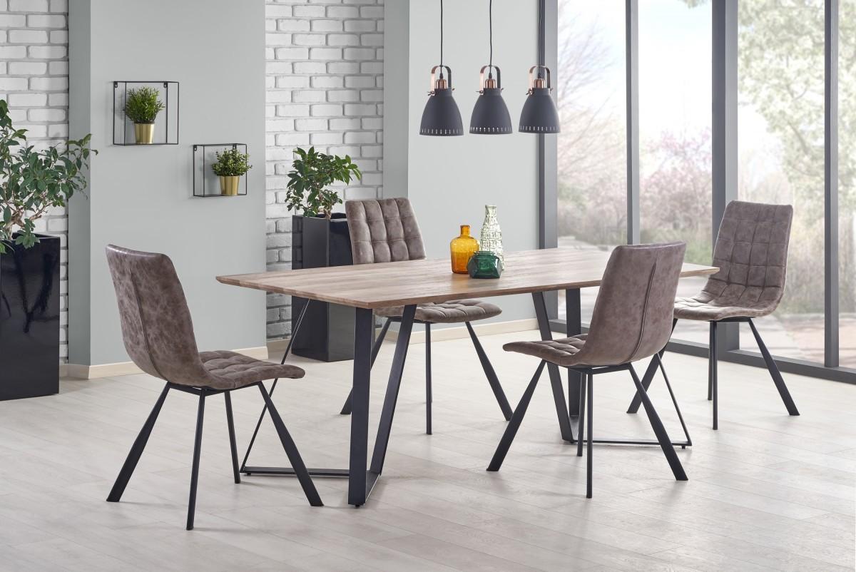 Jedálenský stôl Calgo rustikálny orech