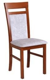Jídelní židle MILANO 6 Bílá Tkanina 31