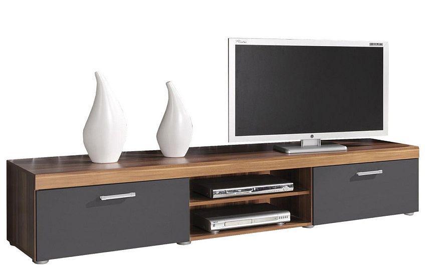 Jurek TV stolík SAMBA (slivka / grafit mat)