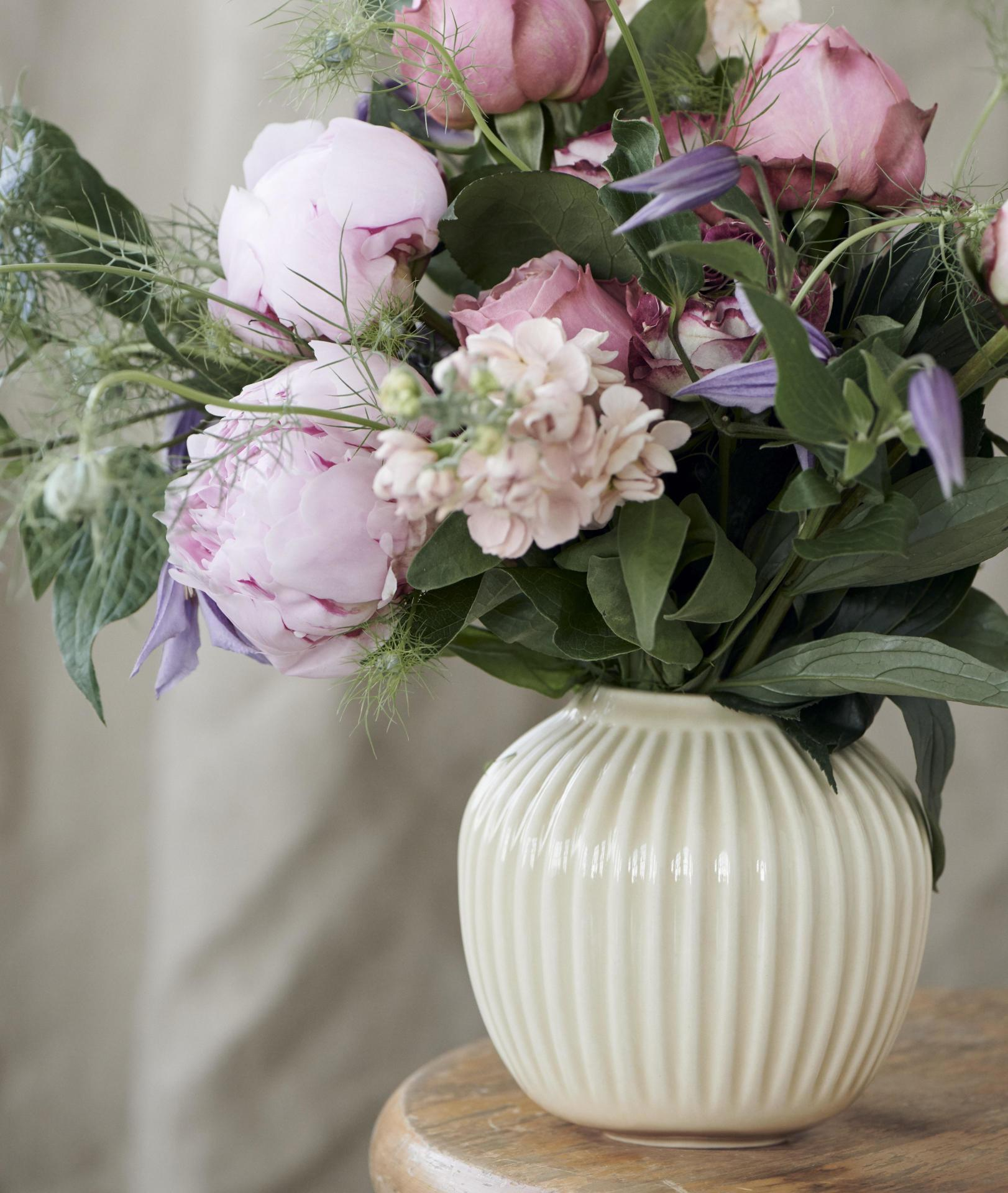 KÄHLER Keramická váza Hammershøi Birch 13 cm