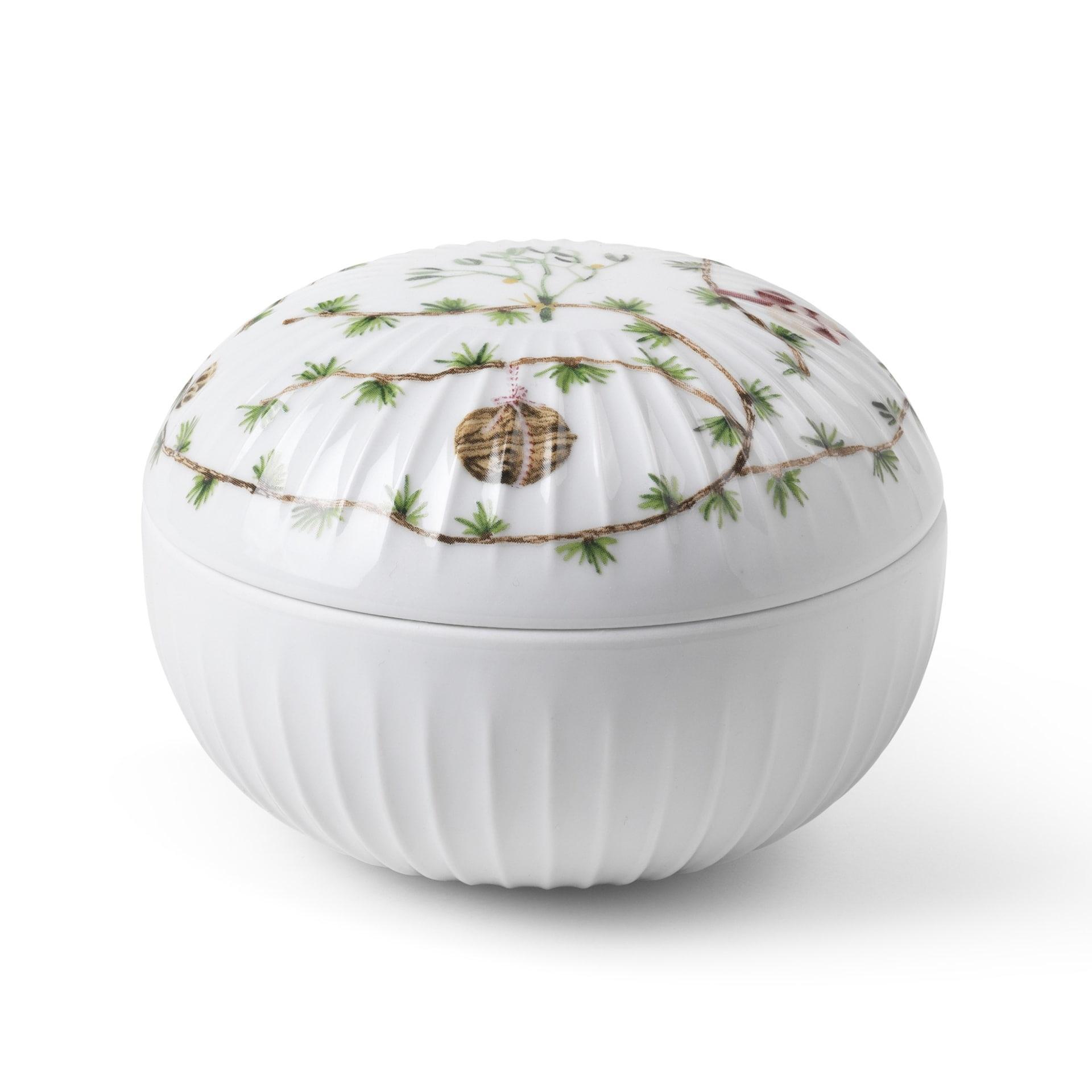 KÄHLER Porcelánová dózička Hammershøi Christmas