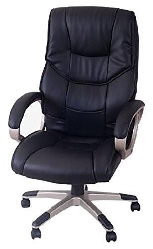 Kancelárska stolička - čierna F