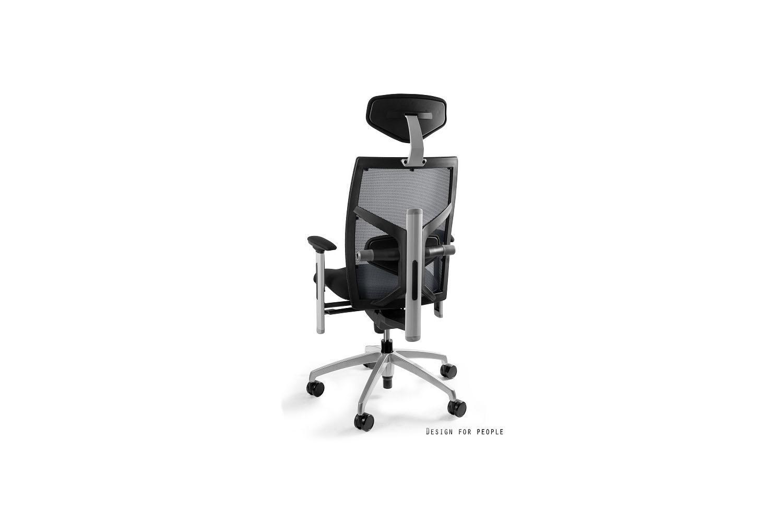 Kancelárska stolička Ester s farebnou opierkou